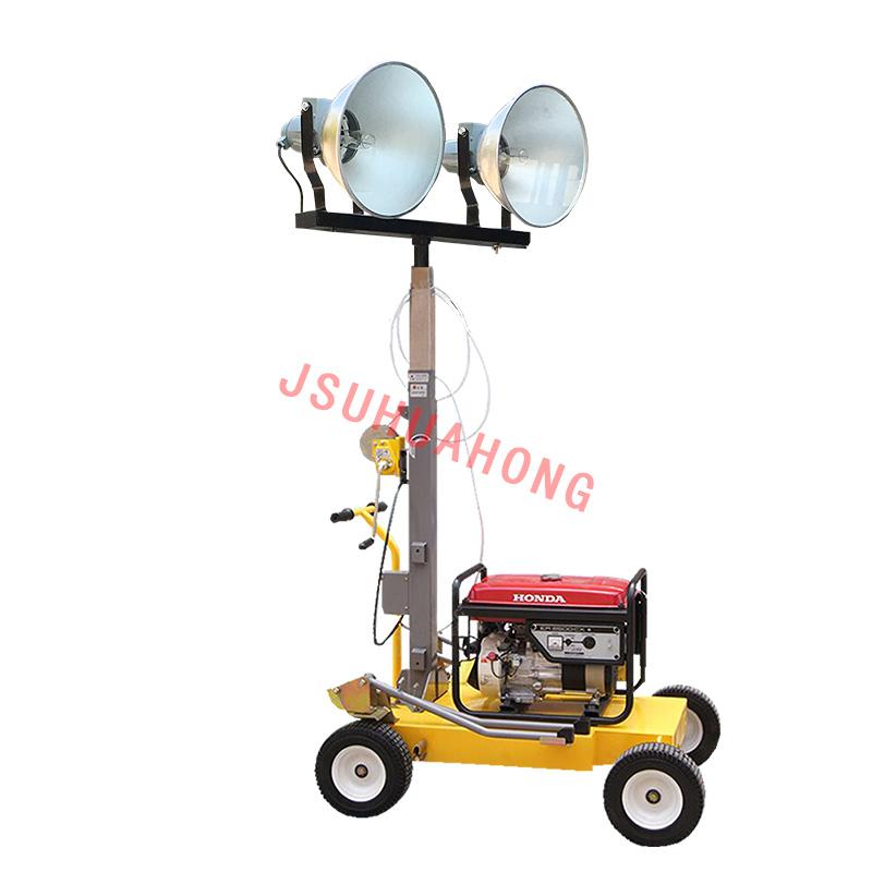 HMF953-S  手摇升降移动照明车