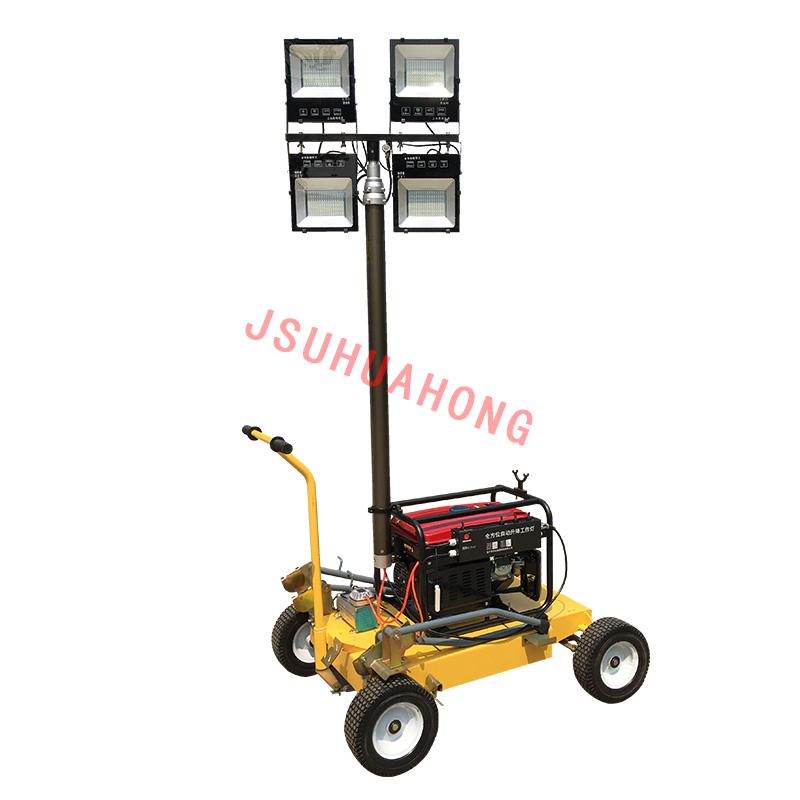HMF955-Q  大型自动升降LED移动照明车