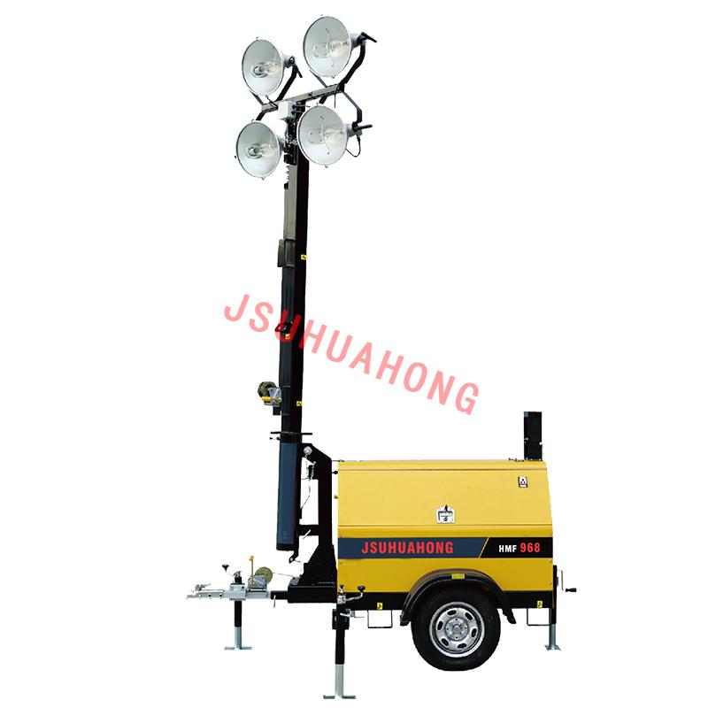 HMF968-A  拖车式移动照明灯塔
